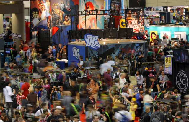 Comic Book And Animation Fans Flock To Comic-Con