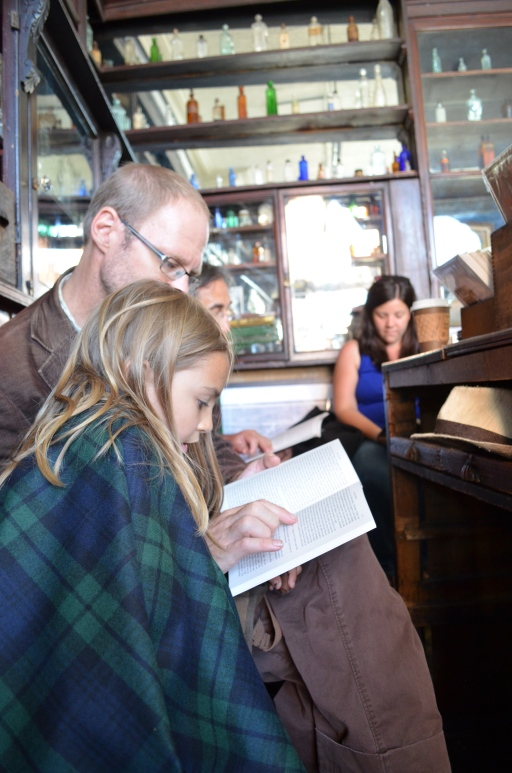 A reading of Dubliners at Sweny's Pharmacy in Dublin