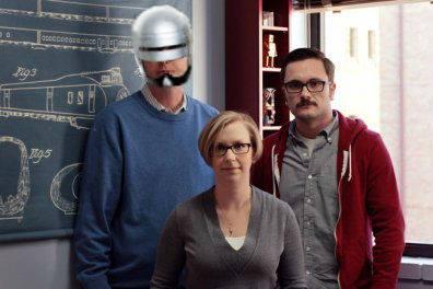 Dr. Lewis as Robocop