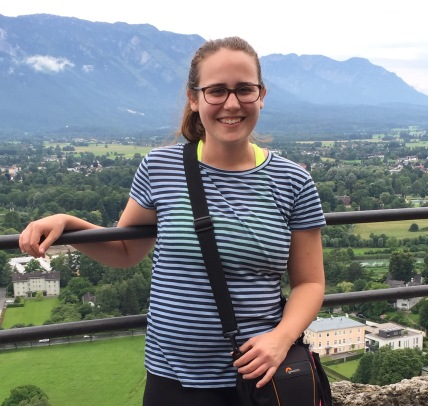 Figure 4. Rebecca Bielamowicz in Salzburg, Austria_photo by Steve Hoelscher