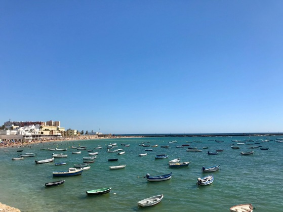 Playa De La Caleta, Cádiz, Spain